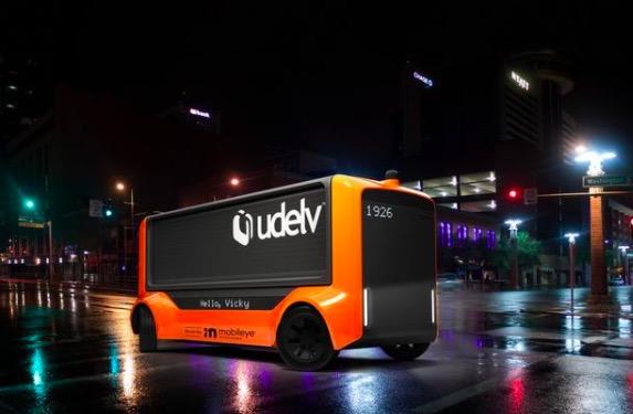 Mobileye与Udelv达成自动驾驶配送合作 将于 2023 年推出无人送货车,计划生产 35000 辆
