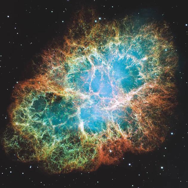 超高能宇宙线来源之一:蟹状星云